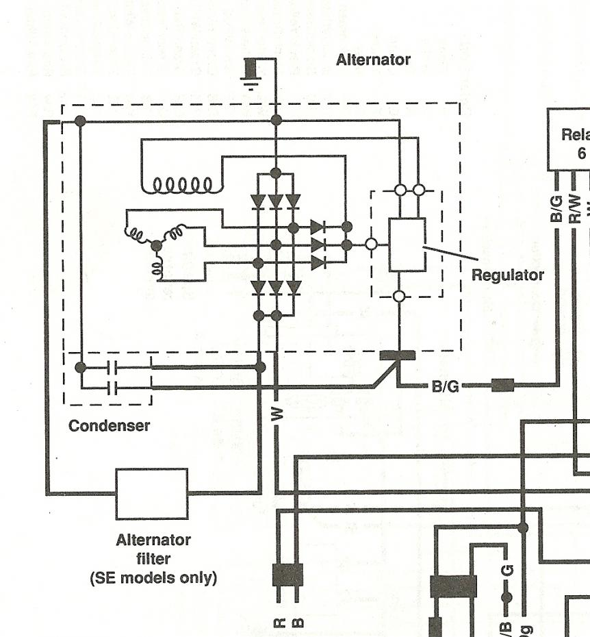Gl1500 Oem Alternator Issue Honda Goldwing Forums Gl1800 Gps Wiring Diagram Click Image For Larger Version Name Scan0006 Views 308 Size 861