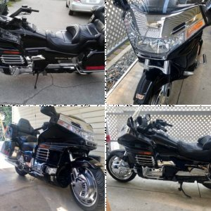 2000 Honda Goldwing 1500 Aspencade 25th Aniversery