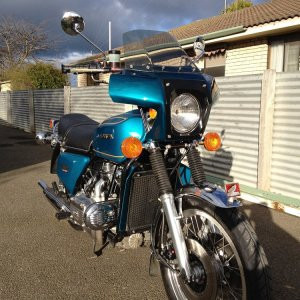 1975 Goldwing 15,280 kilometres from new